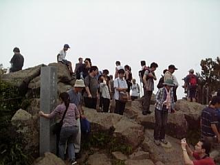 女体山山頂