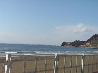 晴れの海岸