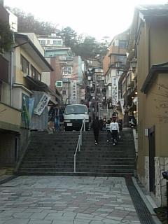 再び石段街