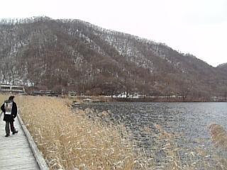 榛名湖遊歩道