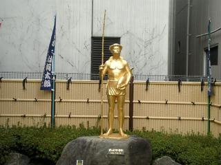 カッパ太郎像