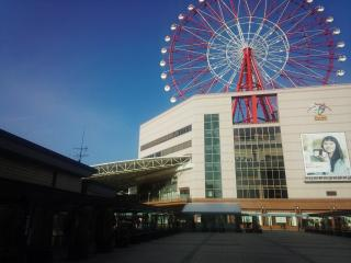 鹿児島中央駅の観覧車