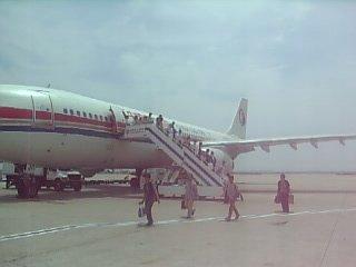 上海へ降り立つ
