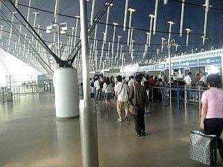 上海空港ロビー