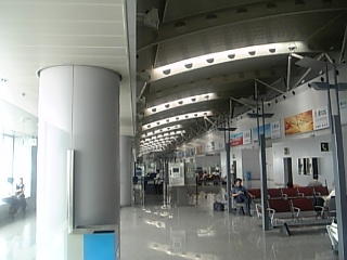 北京空港ロビー