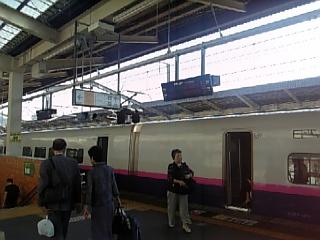 福島駅到着