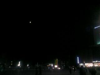 駅ビルの夜景