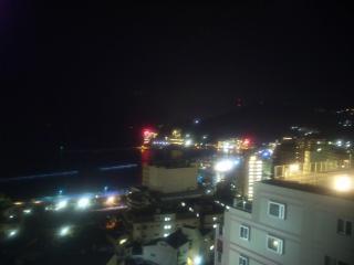 宿からの夜景