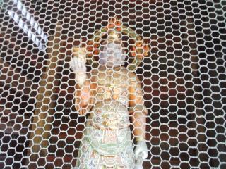 山門裏の四天王像