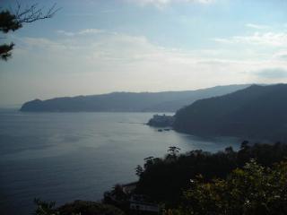 熱海城からの景色
