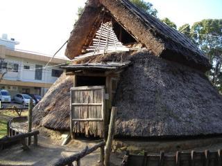 旧竪穴式住居