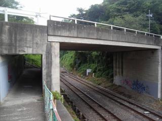 鉄道のトンネル